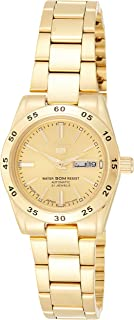 SEIKO Women's Automatic Watch, Analog Display and Stainless Steel Strap SYMG44J1