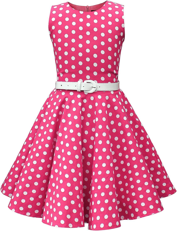 BlackButterfly Kids 'Audrey' Vintage Polka Cheap SALE Start Girls Dress Dot 35% OFF 50's
