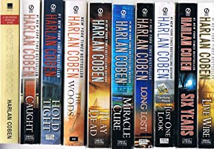 Harlan Coben, 10-Book Collection: Gone for Good; Caught; Hold Tight; The Woods; Play Dead; Miracle Cure; Long Lost; Just One Look; Six Years; Live Wire