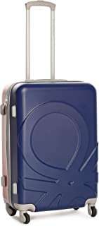 United Colors of Benetton Dual Color ABS 70 cms Navy/Red Hardsided Check-in Luggage (0IP6MP28HL01I)