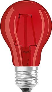 Osram 816053, Bombilla LED E27, 1.6 W, Rojo
