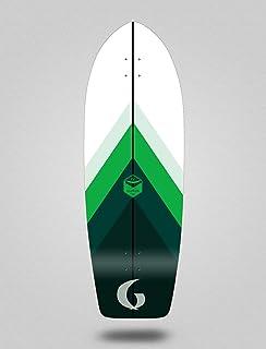 Glutier Surfskate Deck Surf Skate Green Style 29...