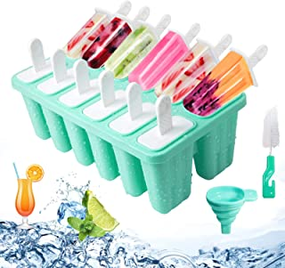6er DIY Eisform Selbstgemacht Joghurt Cream Eisst Eiswürfelform Silikonform