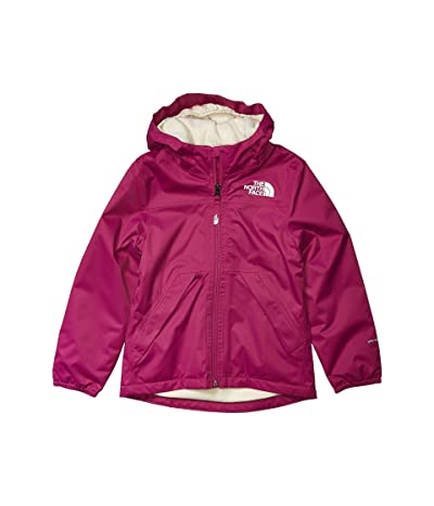 The North Face Kids Warm Storm Rain Jacket (Little Kids/Big Kids) (Wild Aster Purple) Girl