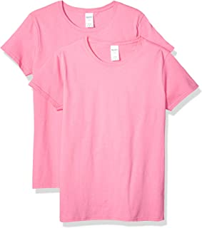 Women's Heavy Cotton Adult T-Shirt, 2-Pack