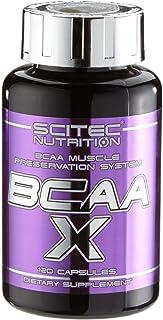 Scitec Nutrition BCAA-X Aminoácidos – 120 Cápsulas