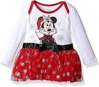 Baby Girls' Minnie Mouse Holiday Tutu Bodysuit