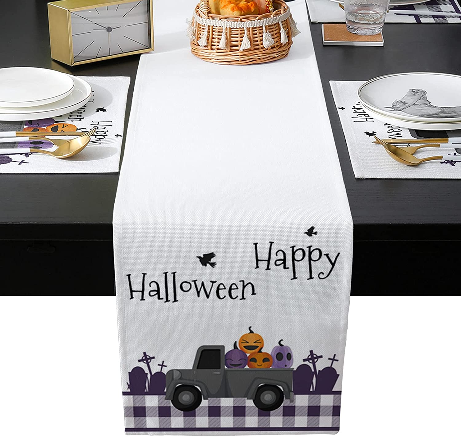 PIEPLE Table Runner Sets Super Special SALE Translated held with Placemats 4 Mats Matchi