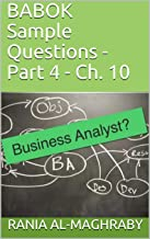 BABOK Sample Questions - Part 4-2: Ch. 10 (English Edition)