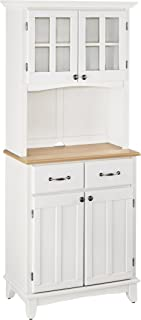 Sponsored Ad - Buffet of Buffet White with Wood Top with Buffet by Home Styles