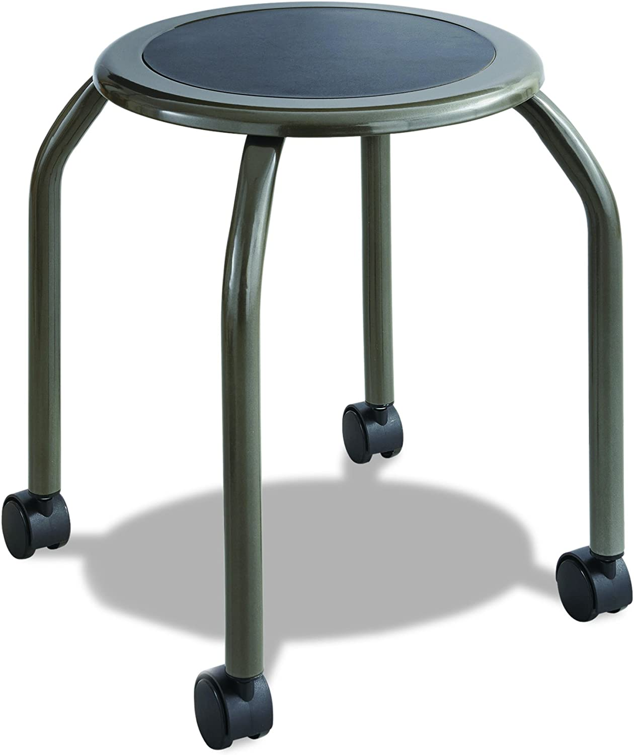 Safco Products 6667 Diesel Stool Trolley, Pewter