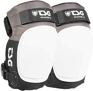 TSG Roller Derby 3.0 Kneepads - Outdoor Sports Protective Gears - Adjustable Roller Derby Safety Gears Knee Pads - Medium