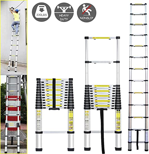 new arrival Telescoping high quality Ladder Aluminum Telescopic Extension Tall Multi Purpose 12.5 Ft EN131 wholesale Certificated Lightweight Portable online