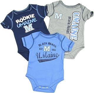 WinCraft NCAA University of Maine WCRA2022314 All Pro Baby Bib