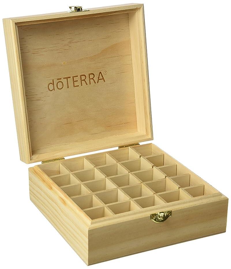 リスナー反発する息苦しいエッセンシャルオイル収納ボックス25本用 エッセンシャルオイルボックス 20 mlのボトルを15 mlのための25のブロックによって木製のキャビネット