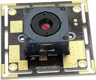 SVPRO 5mp Autofocus CMOS Sensor OV 5640 Mini USB Board Camera Module for Telescope Endoscope,Microscope with 60 Degree Megapixel Lens&1M USB Cable