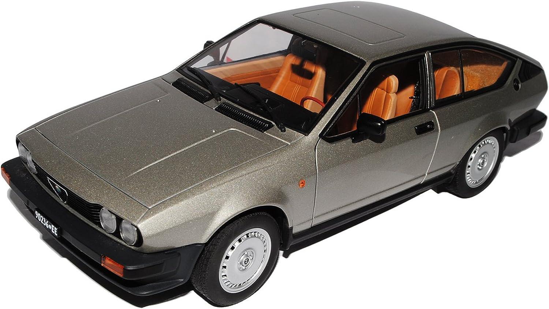 AUTOart Alfa Romeo Alfetta GTV 2.0 2000 Coupe 1980 Silber Grau 70147 1 18 Modell Auto mit individiuellem Wunschkennzeichen