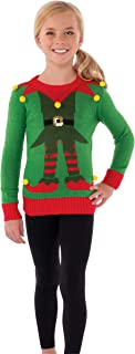 Rubie's Costume Childs Ugly Christmas Elf Sweater