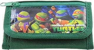 Ninja Turtles Green Trifold Wallet