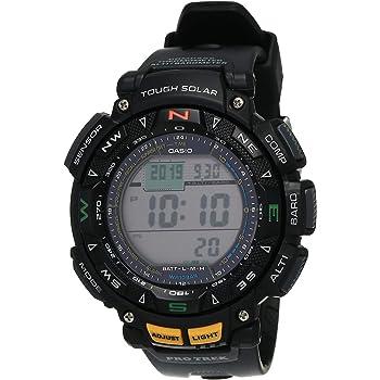 Casio #PRG240-1 Men's Tough Solar Triple Sensor Pathfinder Sports Watch