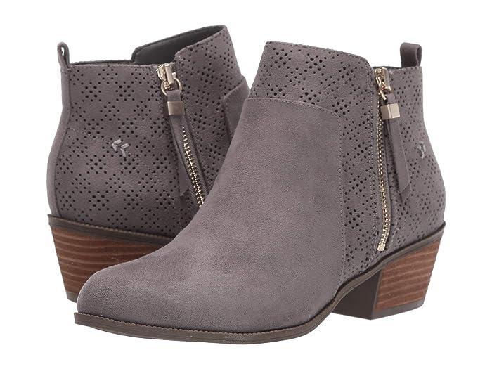 Dr. Scholls  Brianna (Dark Shadow Grey Microfiber) Womens  Boots