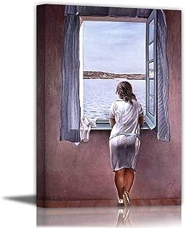 Figure At A Window - By Salvador Dali - Canvas Prints 12