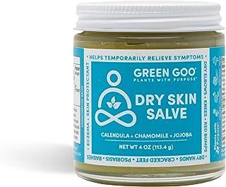 Green Goo Natural Skin Care Salve, Dry Skin Care, 4-Ounce Jar