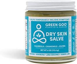 Green Goo Natural Hand Cream and Moisturizer for Dry Hands and Feet, Psoriasis and Eczema Cream (4 Ounce Jar)