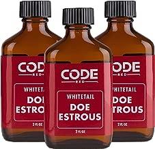 Code Blue Code Red Whitetail Doe Estrous