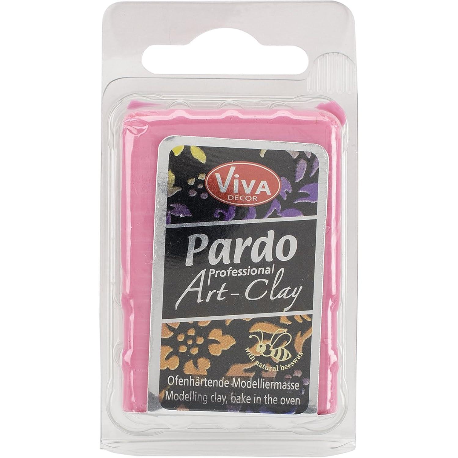 Viva Decor Pardo Art Clay Translucent, 56g, Red