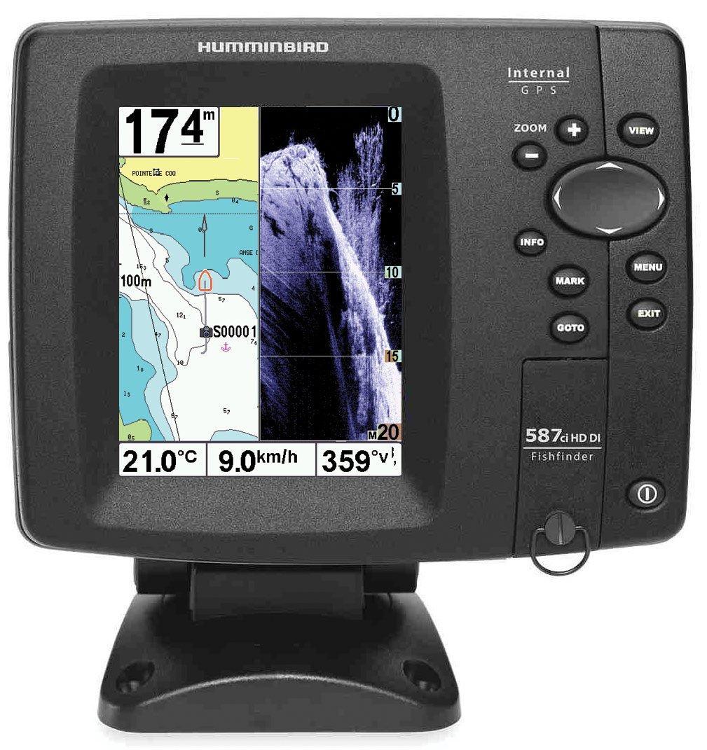 sondeur Echo Radar pesca ff587ci hd-di Down Imaging, portable – fuera batería: Amazon.es: Deportes y aire libre