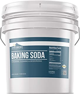 Baking Soda (35 lbs) Natural for Cooking, Baking, Cleaning, Deodorizing, & More by Earthborn Elements