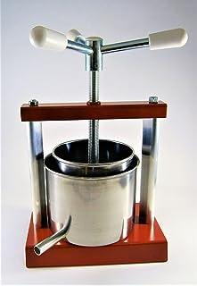 Queso prensa prensa de acero inoxidable 1,8 L con cesta (molde) 1
