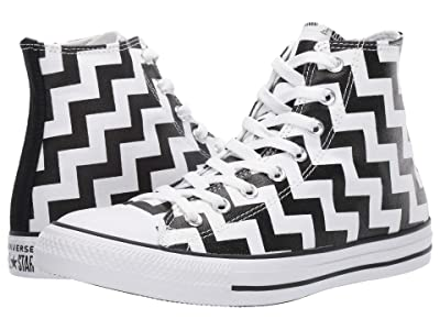 Converse Chuck Taylor All Star Glam Dunk Hi (White/Black/White) Women