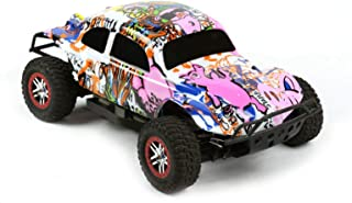 Compatible Custom Body Graffiti Pink Pig Style Replacement for 1/10 Scale RC Car or Truck (Truck not Included) SSB-PIG-01