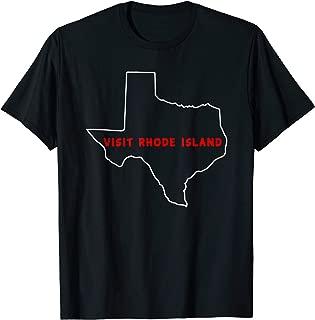 texas rhode island t shirt