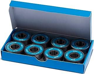 CCS Premium Skateboard/Longboard Blue Steel Bearings ABEC 7 (Pack of 8)
