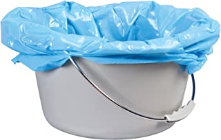 Carex Commode Liners - 42 Toilet Liners(6 Boxes of 7 Count) - Fits Most Commodes, With Absorbent Powder, Holds 2 Quarts Liquid, Disposable