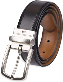 Tommy Hilfiger Reversible Leather Belt - Casual for Mens...