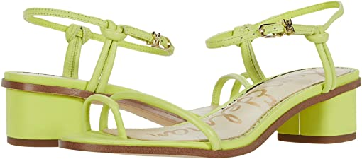 Lime Cocktail Neon Butter Nappa Leather