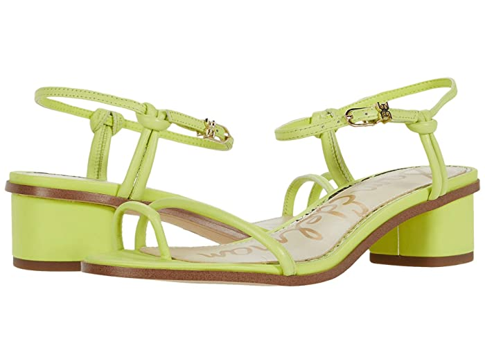 Sam Edelman  Isle (Lime Cocktail Neon Butter Nappa Leather) Womens Shoes