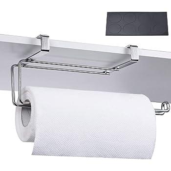 Cuisine en Acier Inoxydable Rouleau papier serviette support Racks Sous Armoire Porte//Tiroir
