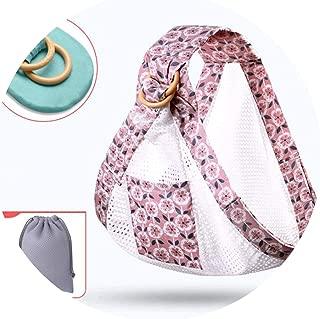 Baby Wrap Ring Sling Carrier Backpack Nursing Cover Soft Natural Wrap Breathable Cotton Kangaroo Bag