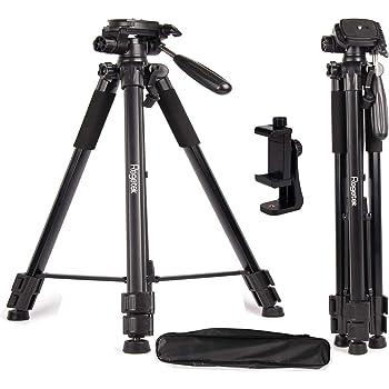 Color : Gold, Size : One Size Aiyawear Stick Tripod Heavy Duty Aluminum Alloy Tripod for DSLR SLR Camera Video Camcorder