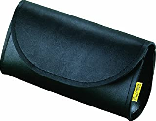 Dowco Willie & Max 58611-00 Synthetic Leather Motorcycle Windshield Bag/Handlebar Pouch: Black, Universal Fit