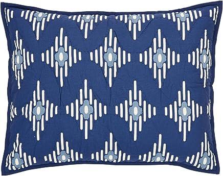 featured product VHC Brands Coastal Bedding - Paloma Blue Sham Standard Indigo