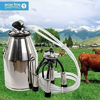 dairy cow milking equipment