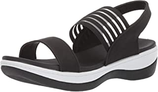 Adtec Women's Comfortable Sandals with Rubber Sole Easy Slip on Flip Flops with Heel Strap