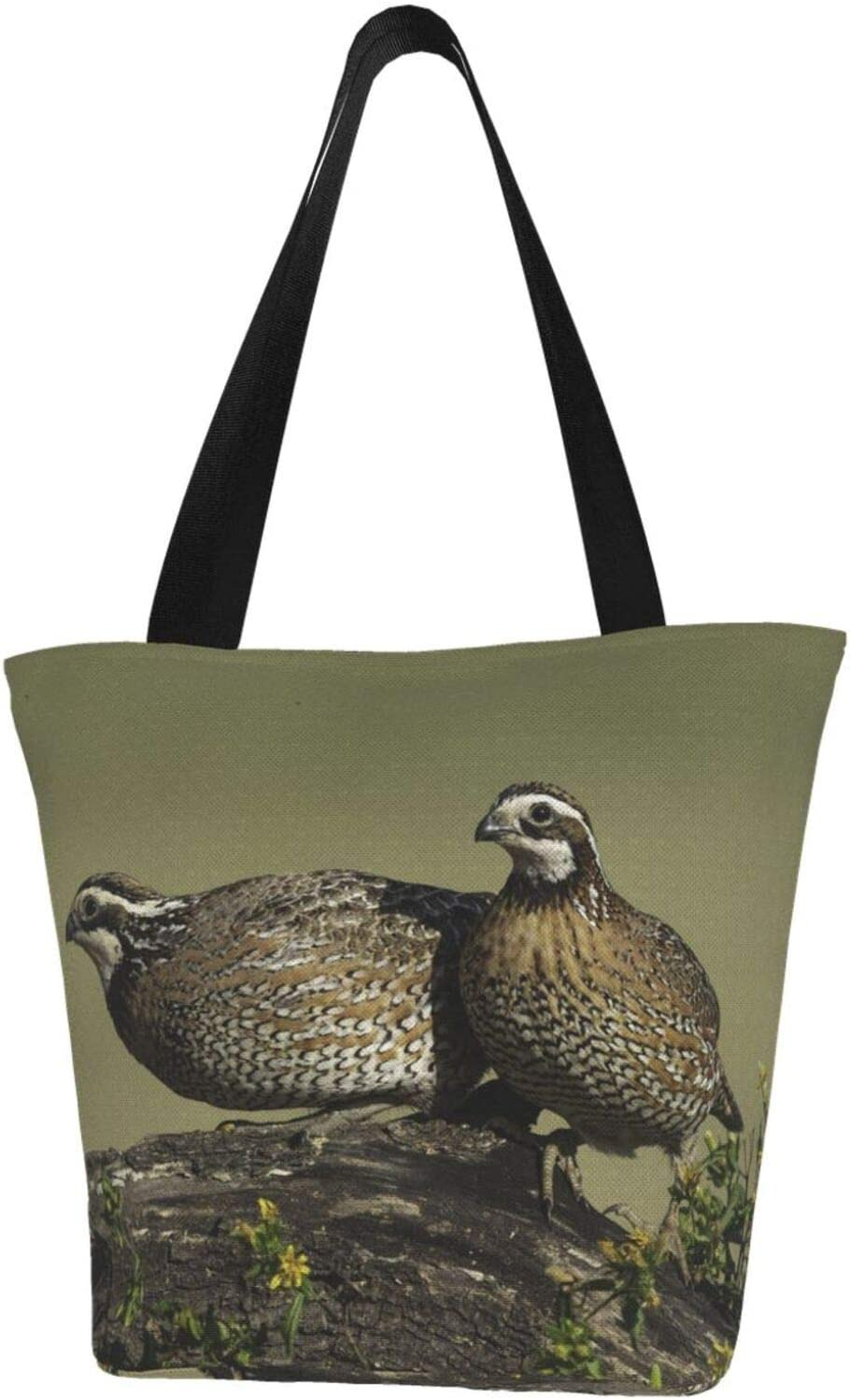 AKLID Superior Lovely Couple Quail Extra Canvas Resistant Water Large Complete Free Shipping Tot