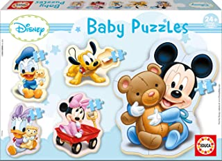 Educa - 13813 - Puzzle Silhouette Wd Mickey
